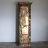 Calvillo Bookcase with Vintage Glass
