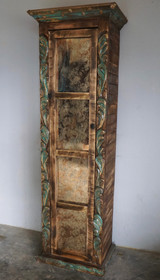 Calvillo Bookcase with Vintage Glass