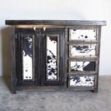 Aurora Cowhide Cabinet