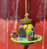 Hand Painted Talavera Bird Feeder