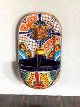 Hand painted Talavera Fountain