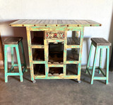 Country  Island + 2 Stools
