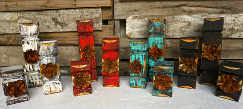 Rosa candle Holder sets