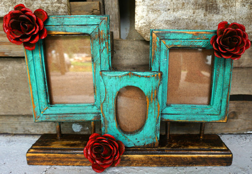 Ona 3 Frame in Turquoise