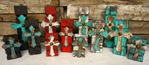 Cross candle holder sets