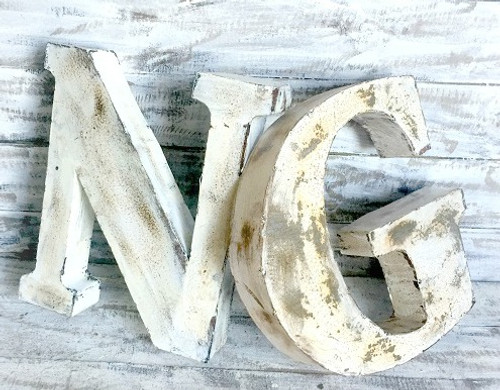 "18""Metal NO light Marque Letters"