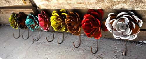 Grande Rose Hooks (Side View)