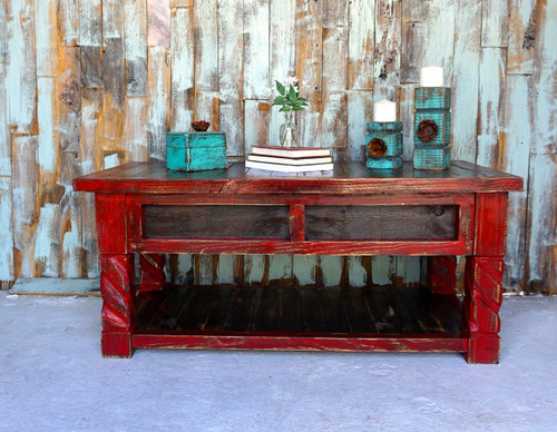 El Dorado Coffee Table-Red