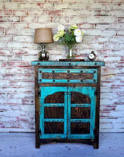 Arco Cabinet-Wood paneled doors