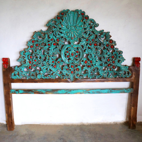 Conchita Headboard Ornate King Size