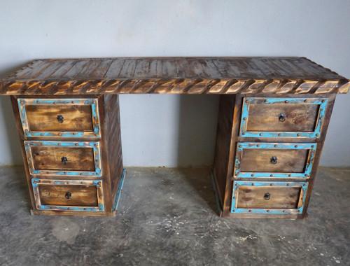 Artesia Hand Carved Desk