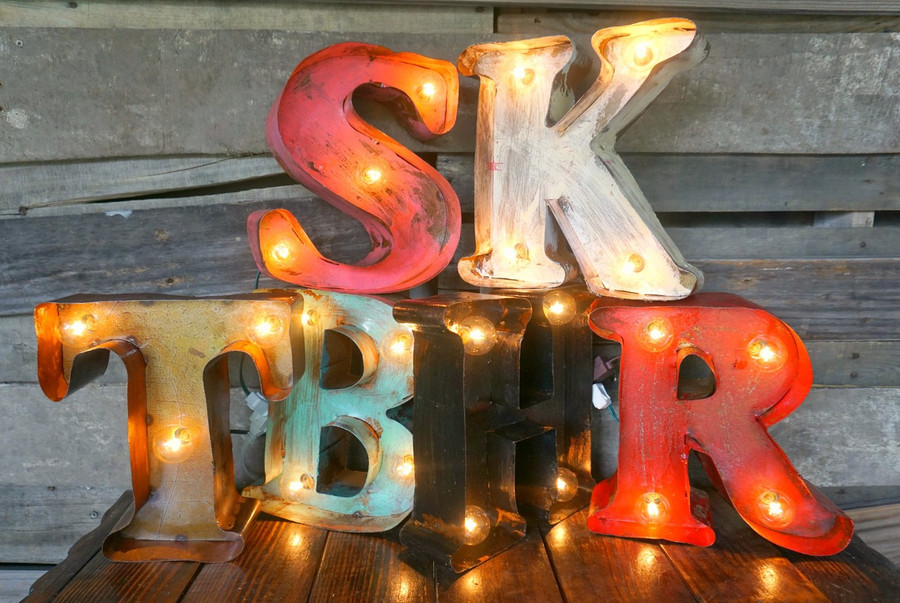 """10"""" Letter Metal Marquees"""