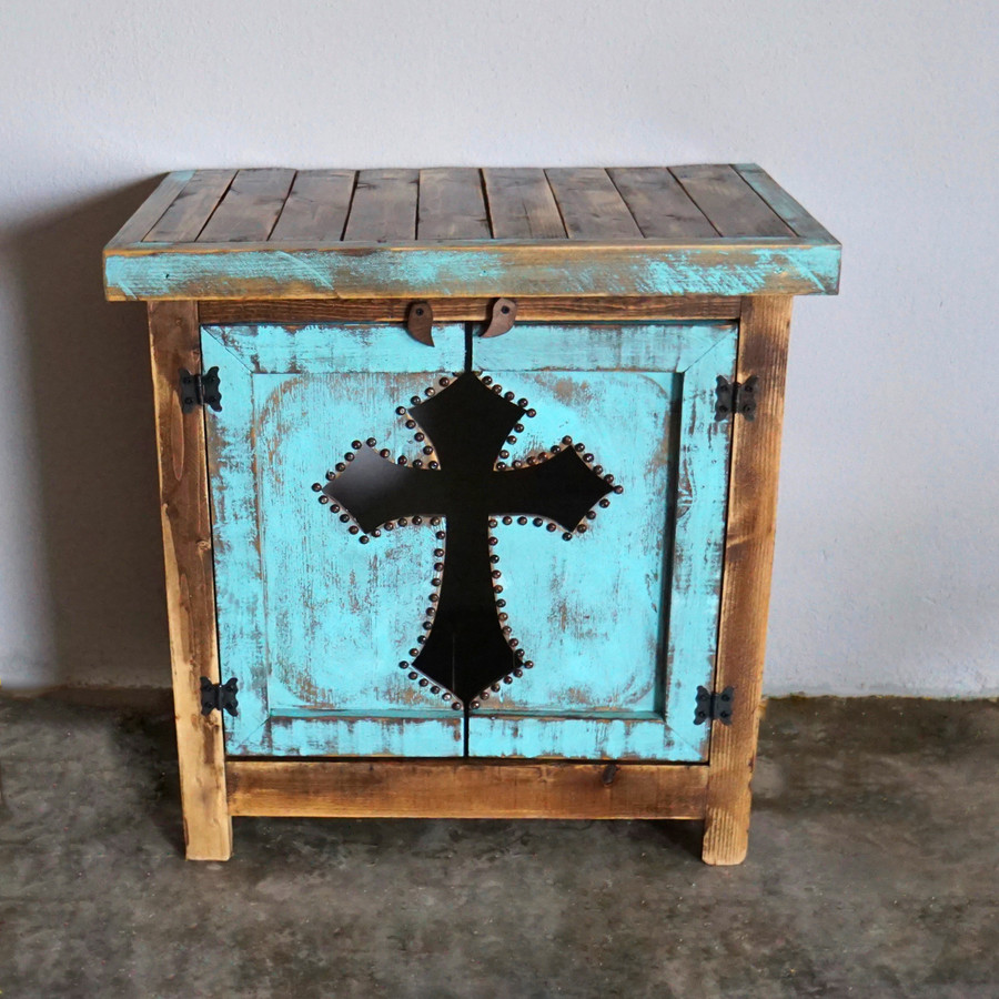 Cristiano Cross Side Table