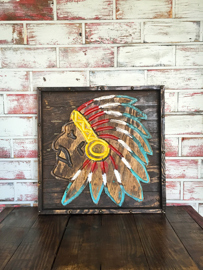 Chief Wall Art