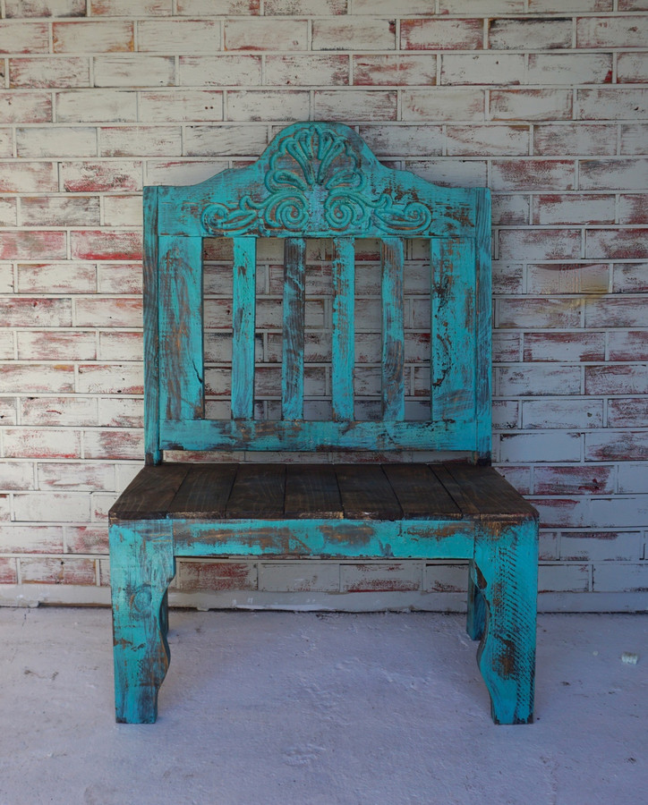Pricilla Carved Bench