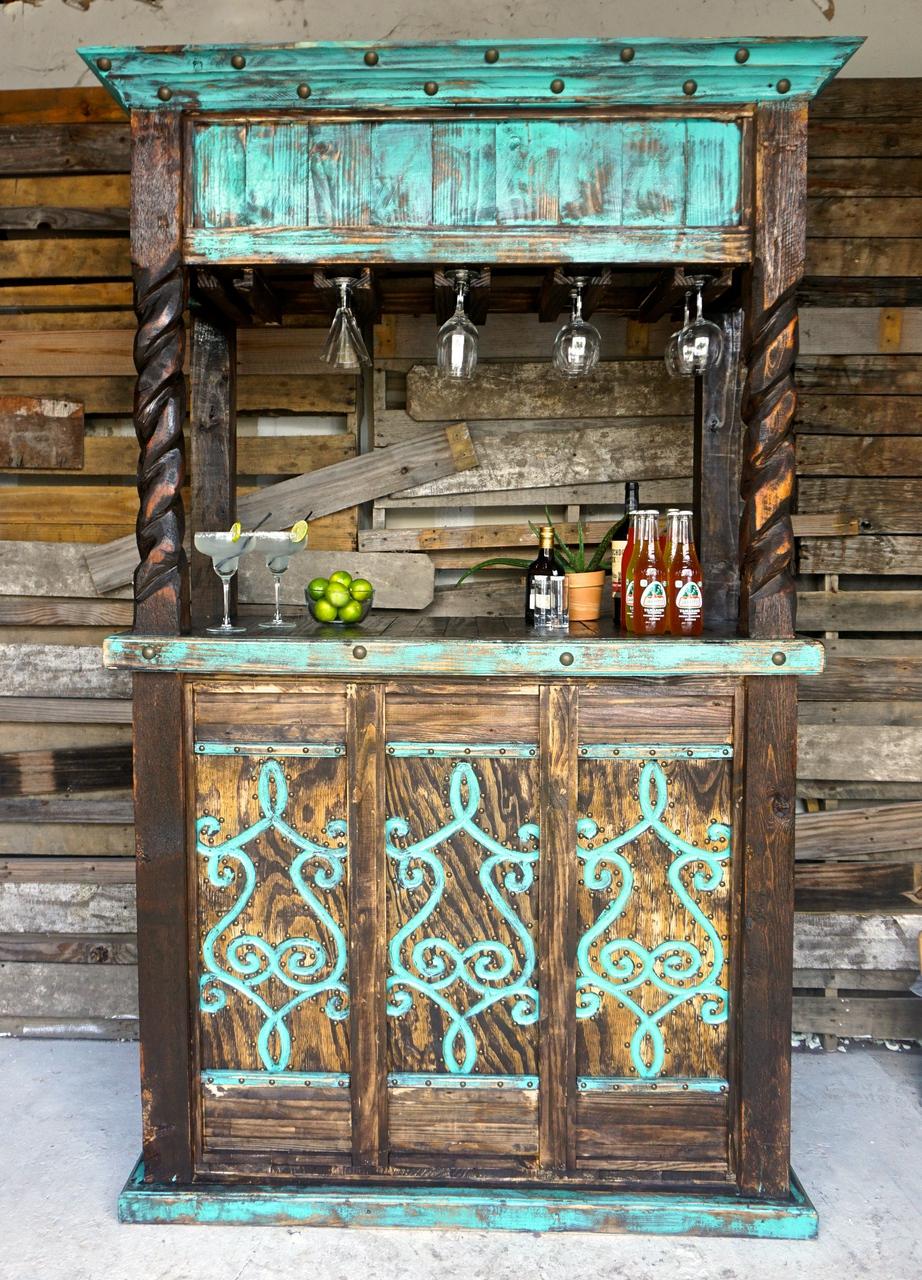 Rustic Armoire Farmhouse Style