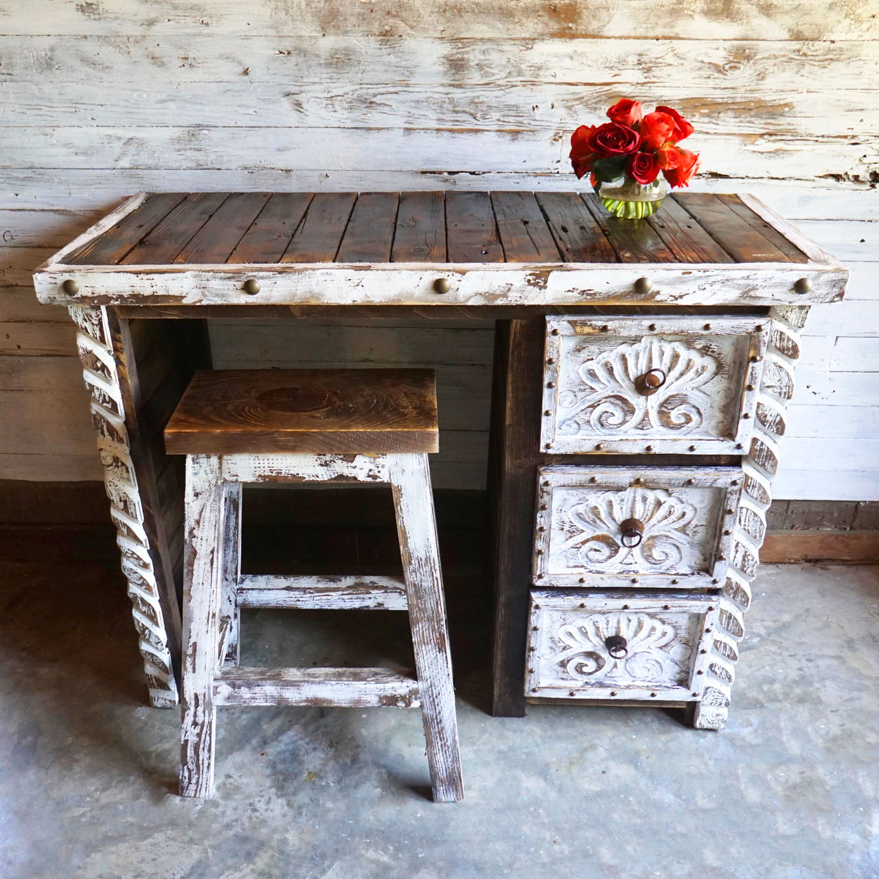 Agave Make Up Vanity Sofia S Rustic Furniture