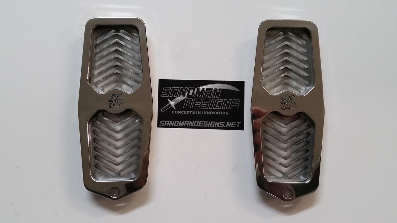 G-Body Custom Billet Door Jamb Vents 73-88 MOST Models