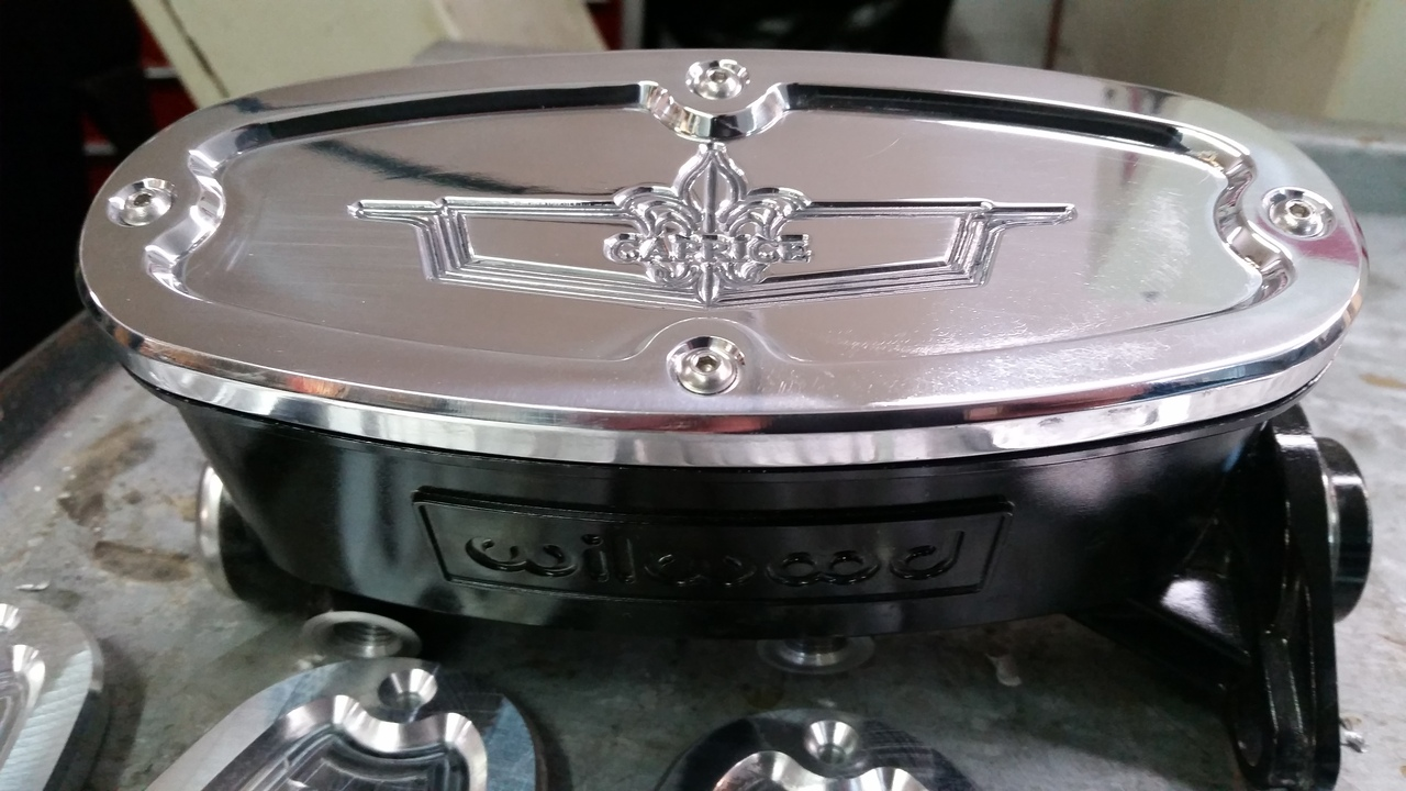 Wilwood Billet Master Cylinder Lid Replacement