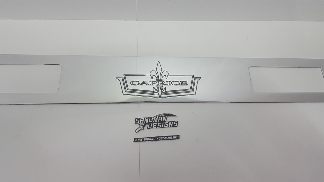 AC Panel 1971 - 1976 Caprice Logo