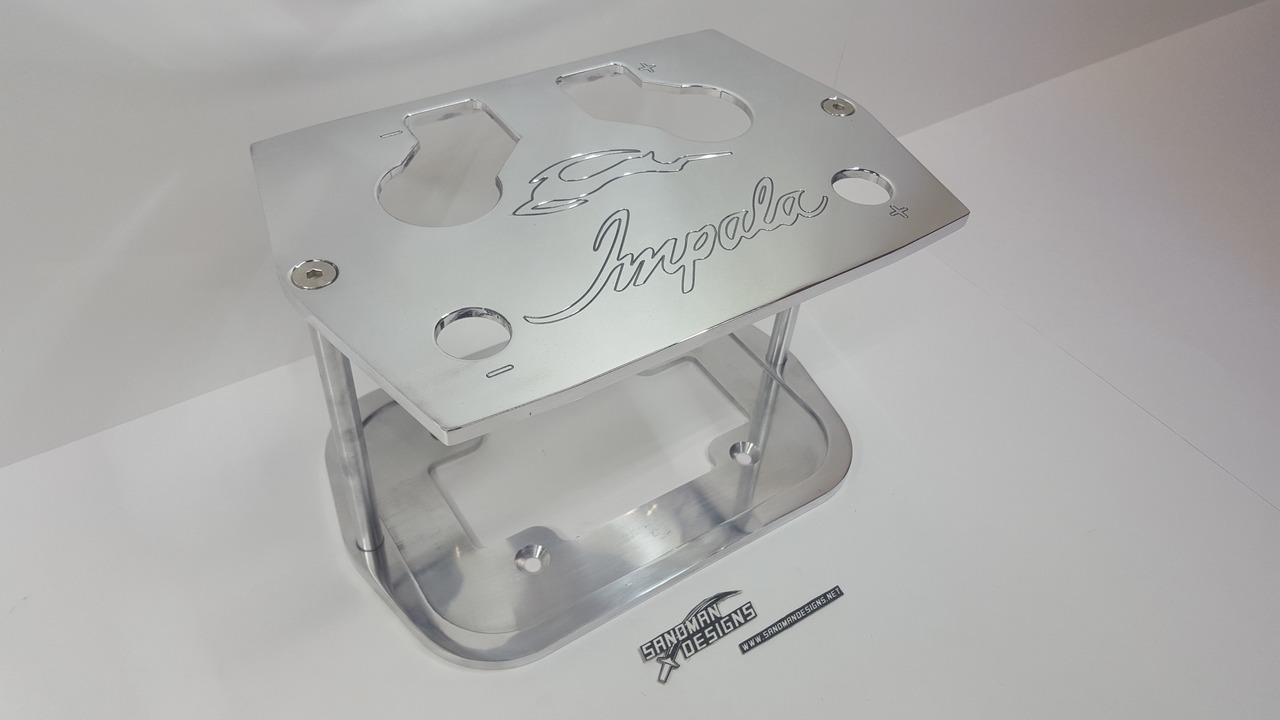 Optima Battery Tray w/ Engraving