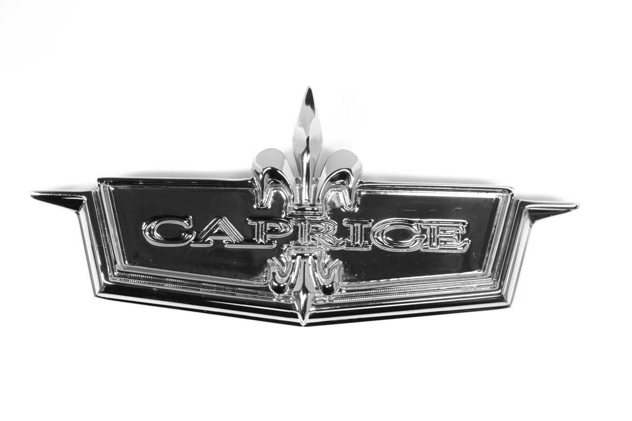 1975 Caprice Header Panel Emblem
