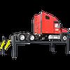 BENDPAK HDS-27X 27,000-lb. Capacity Four-Post Extended Length Truck Lift