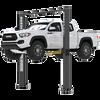 Super-Tall-Two-Post-Lift-XPR-10AXLS-BendPak