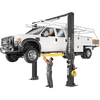 BENDPAK XPR-18CL 18,000 Lb. Capacity, Clearfloor, Standard Arms-