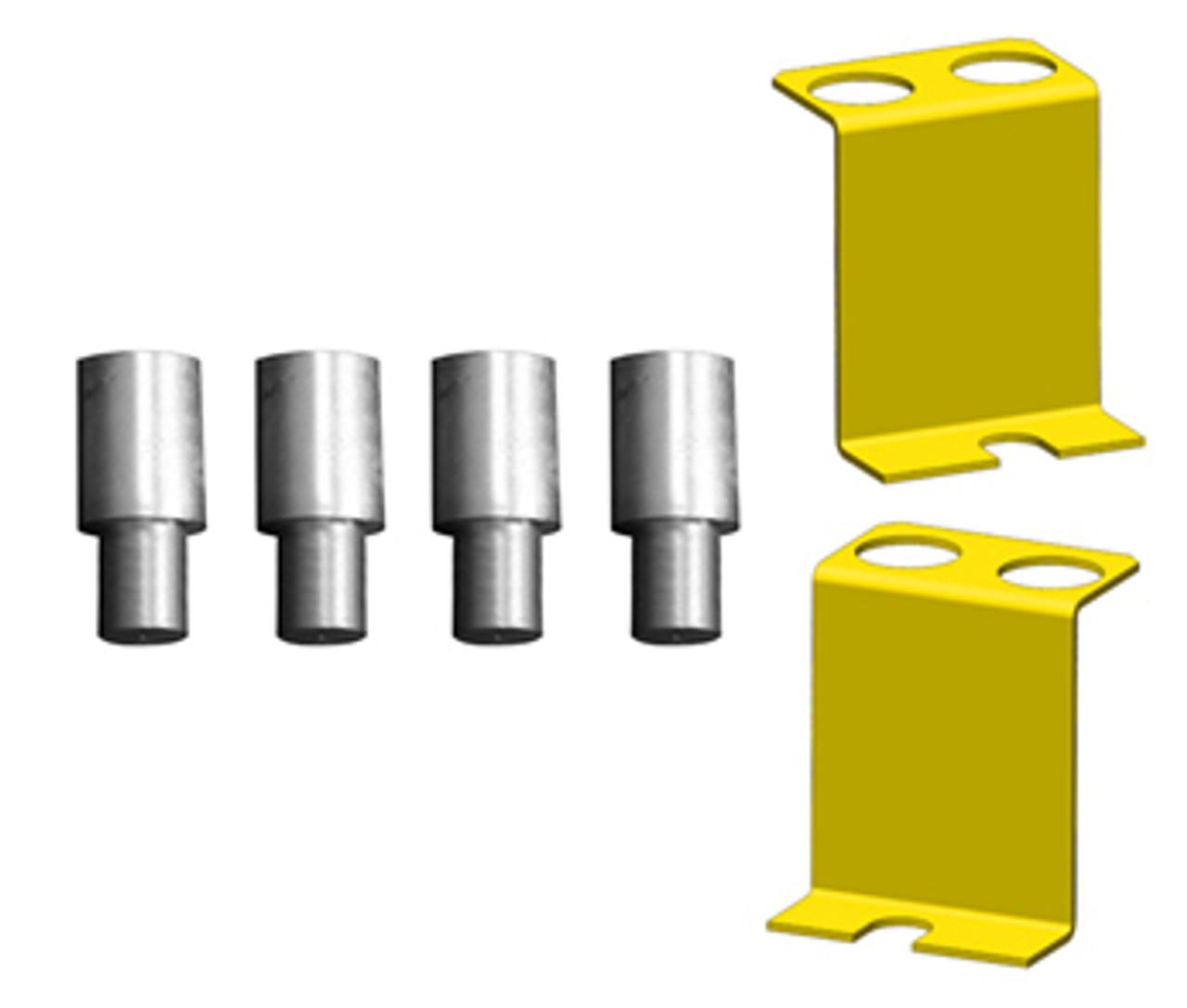 BENDPAK XPR-10-LP Low-Pro Arms, Dual-Width, 10,000 Lb. Capacity, Two-Post