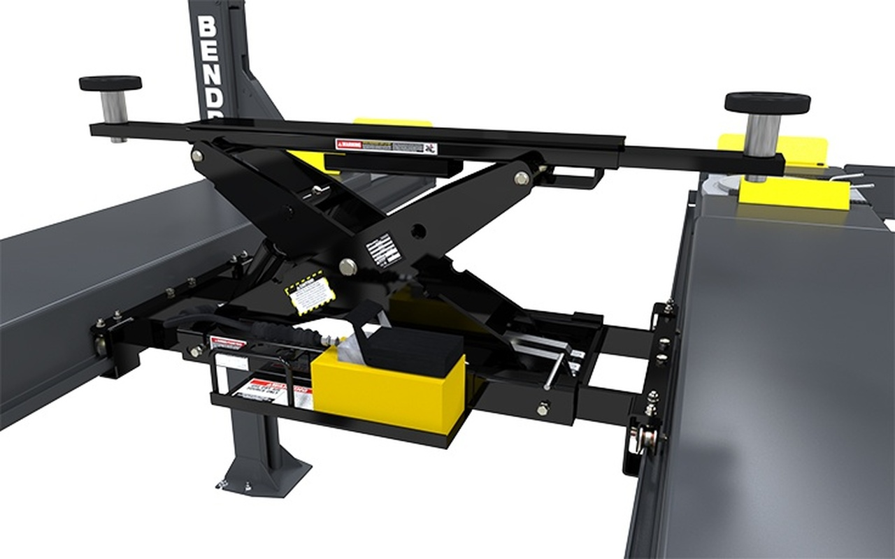 BENDPAK RJ7W (5175249) 7,000-lb. Capacity / Rolling Bridge Jack / Easy-Roll Wheels
