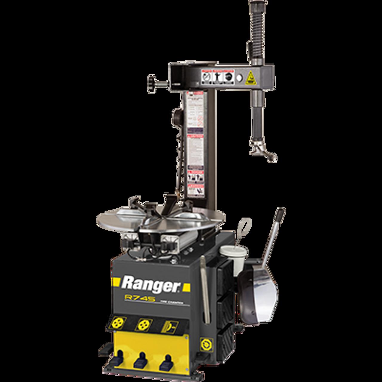 "RANGER R745 RimGuard™ 21"" Capacity Entry-Level Tire Changer"