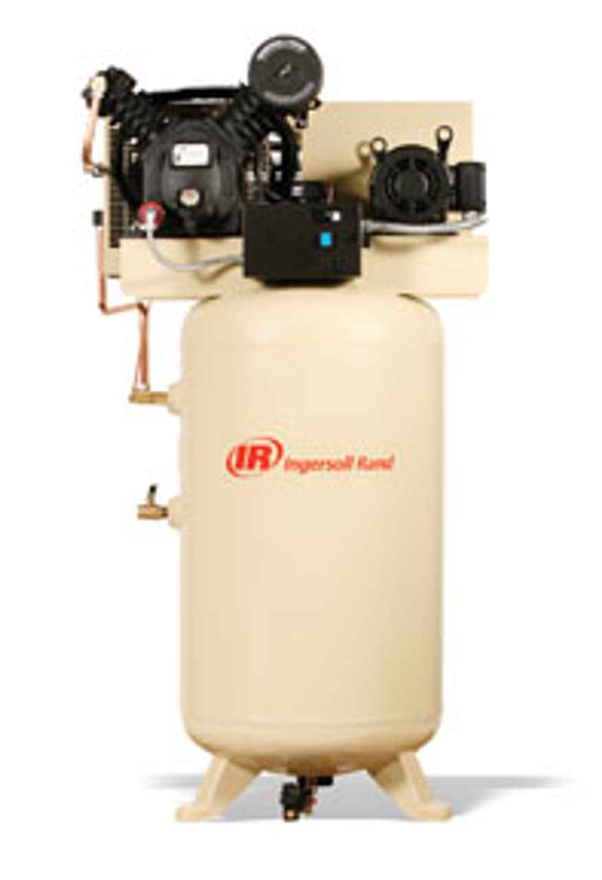 INGERSOL-RAND IRR-2475N7.5-P2  Two-Stage Premium Package Compressor, 7.5HP, 230/3/60