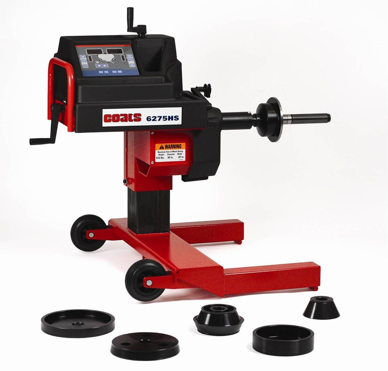 COATS 6275 Heavy-Duty Hand Spin Wheel Balancer