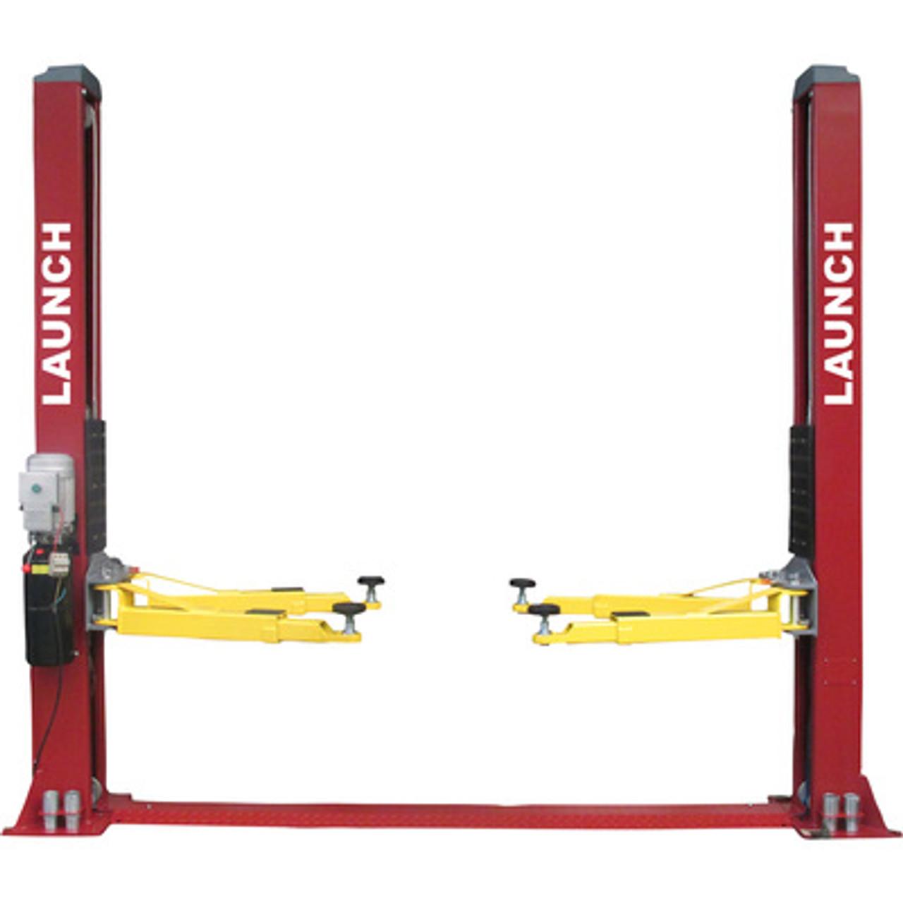 LAUNCH TLT240SB 9,000 lb Floor Plate Symmetric 2 Post Lift