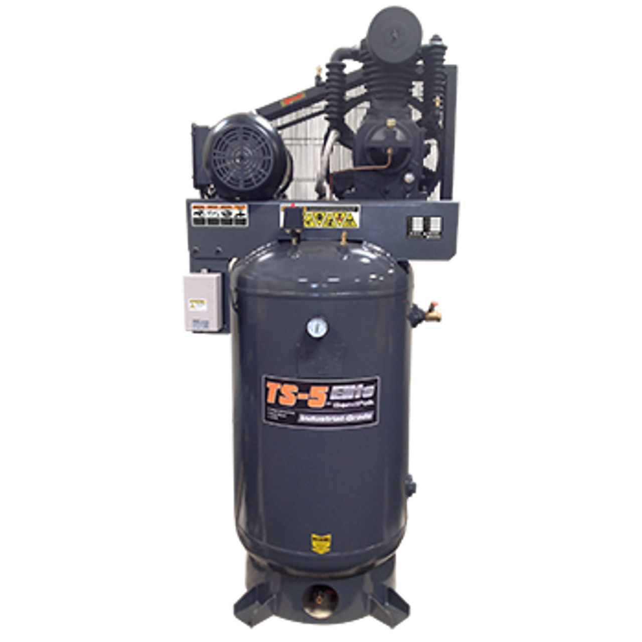 BendPak TS-580V-601 Elite™ Air Compressor, 5 HP, 80‐Gallon Vertical Tank (5179105)