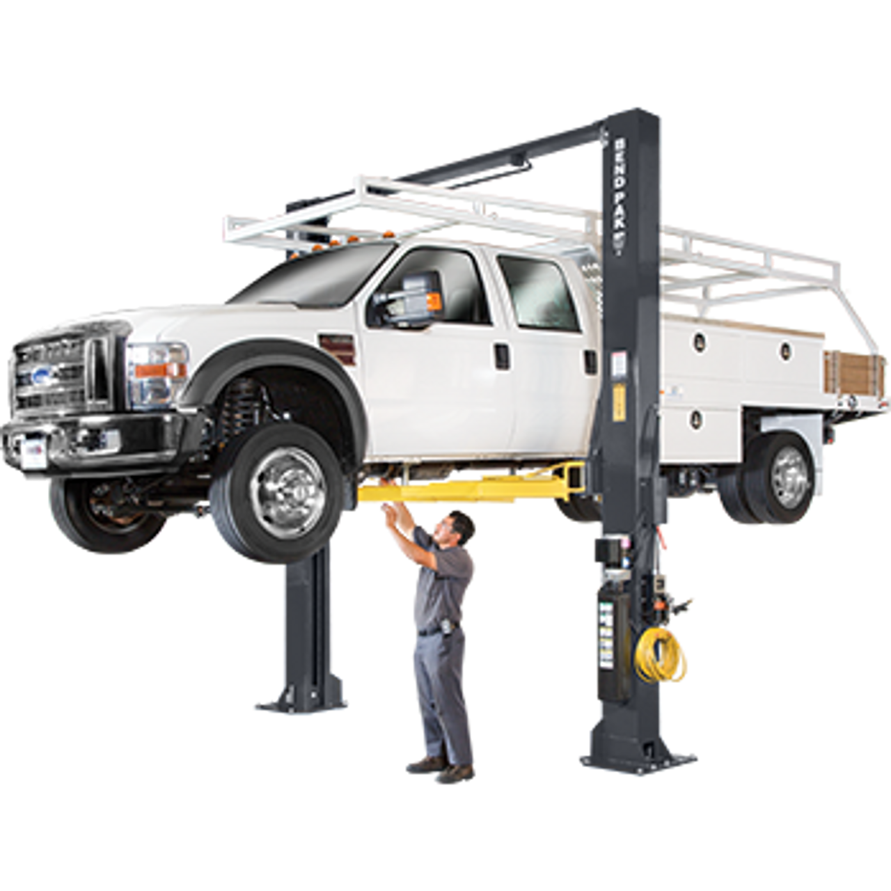 BENDPAK XPR-15CL 15,000 Lb. Capacity, Clearfloor, Standard Arms