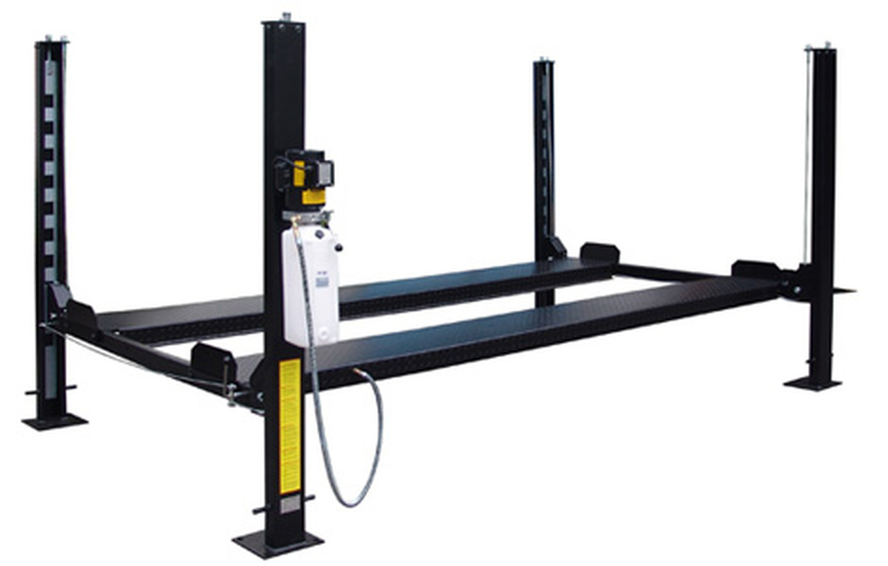 Carlift CL-4-8KB Basic Storage Lift 8K lb 4 Post Parking Lift