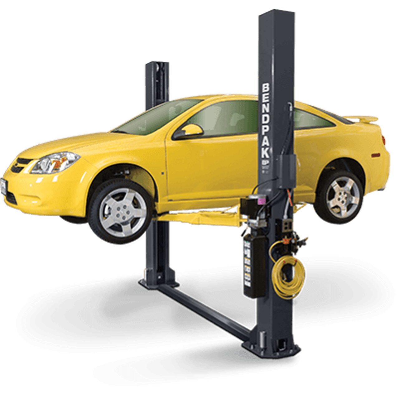 BENDPAK XPR-9S Dual-Width, 9,000 Lb. Capacity, Floor Plate, Chain-Over and Short Lift