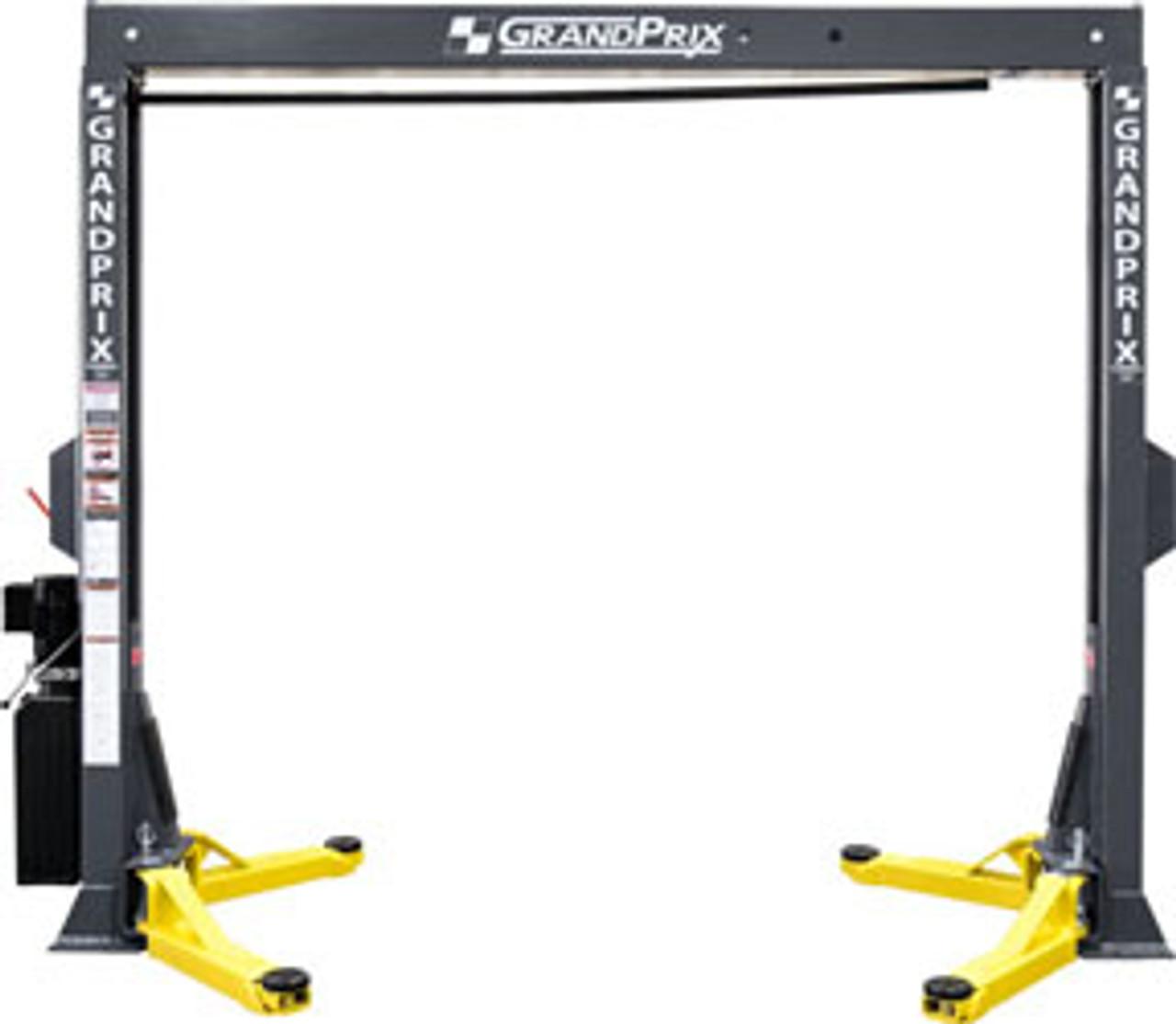 BendPak GrandPrix™ GP-7LCS Bi-metric™ Narrow Bays & Low Ceilings 2 Post Lift