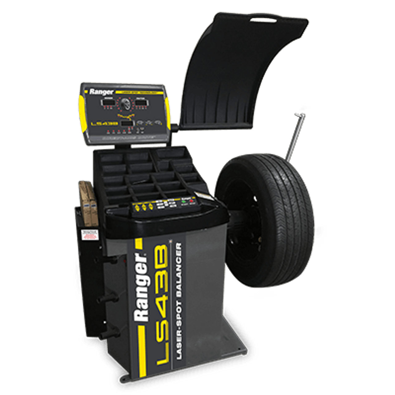 Ranger LS43B Wheel Balancer / 3D Quick-Touch™ Laser-Spot™ / 36 mm Shaft