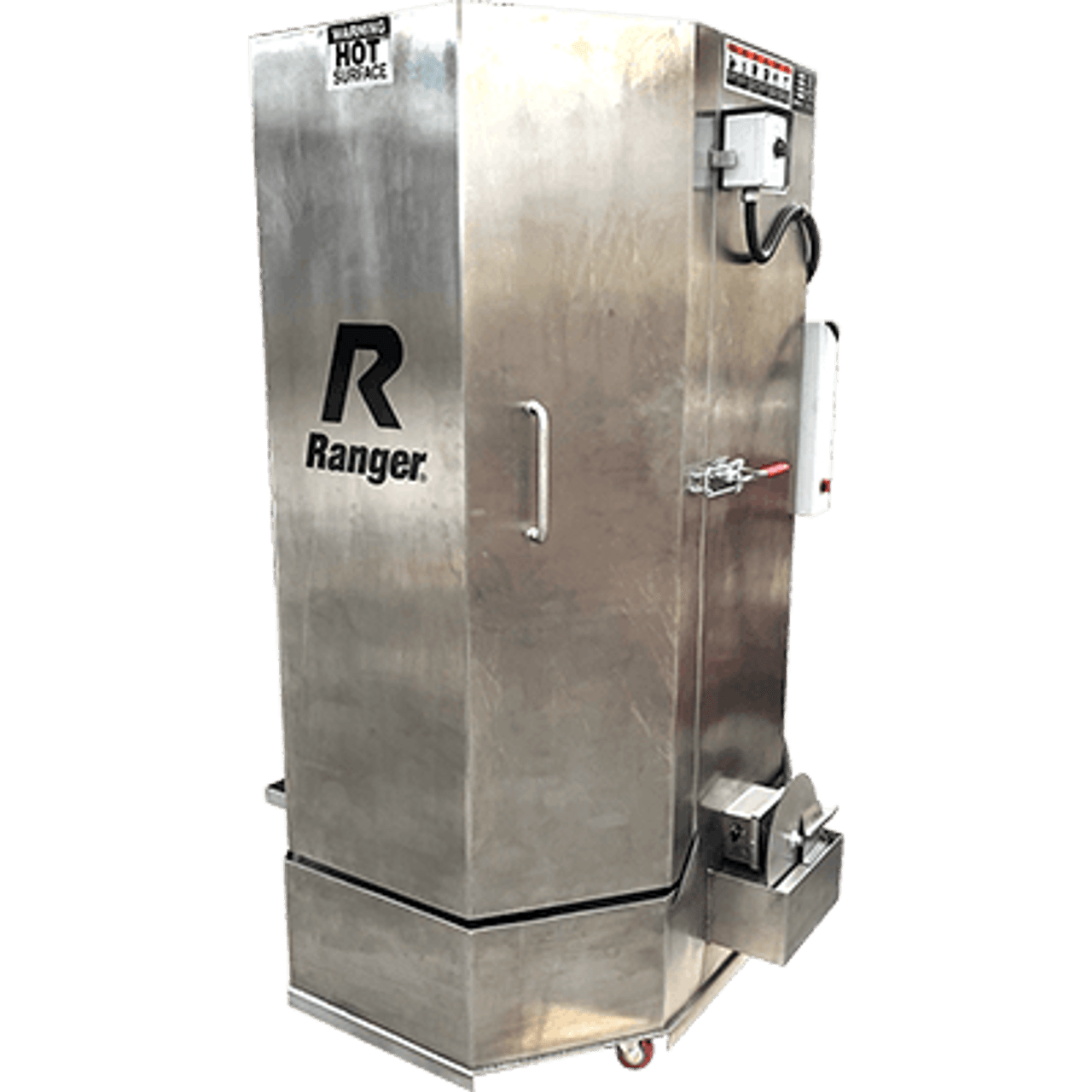 Stainless-Steel Spray Wash Cabinet / Heavy-Duty Truck Dual-Heaters / Low-Water Shutoff