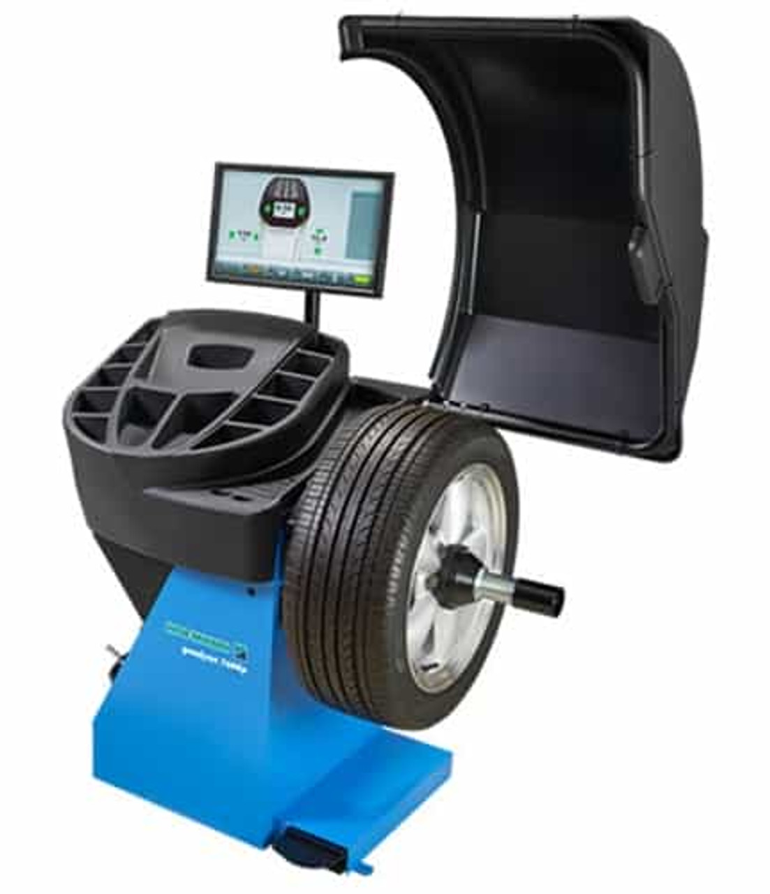 Hofmann geodyna™ 7600p Diagnostic Wheel Balancer w/Power Clamp