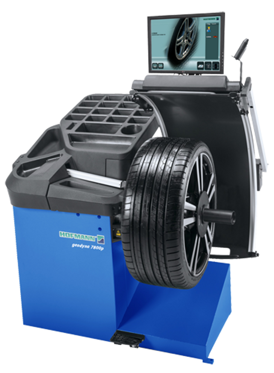 Hofmann geodyna™ 7800p Wheel Balancer w/Touchscreen Monitor