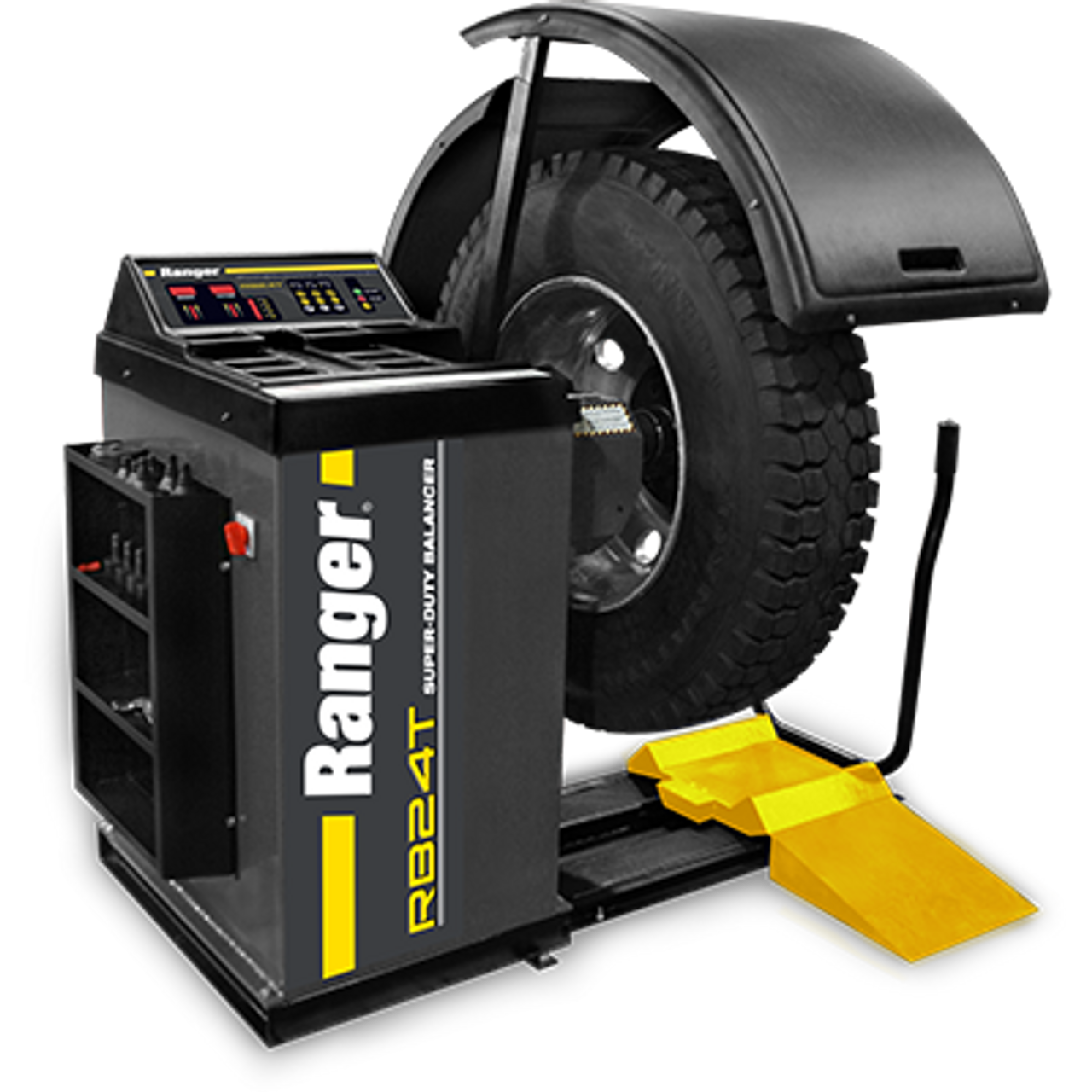 RANGER RB24T SUPER-DUTY TRUCK WHEEL BALANCER WITH Drive‐Check™ Technology