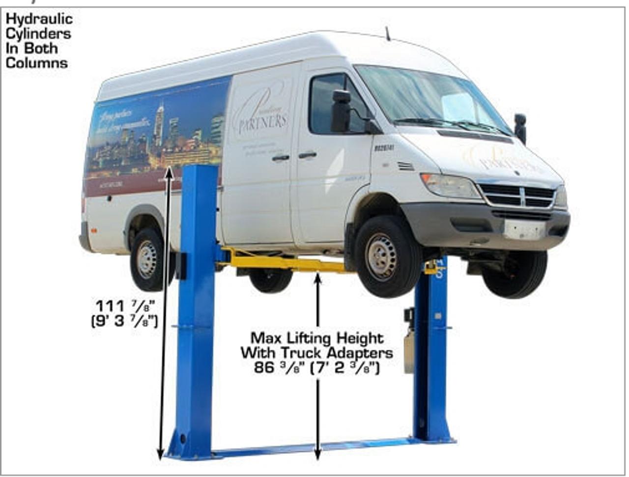 Atlas® BP-10000 Floor Baseplate 2 Post Car Lift 10,000 lbs