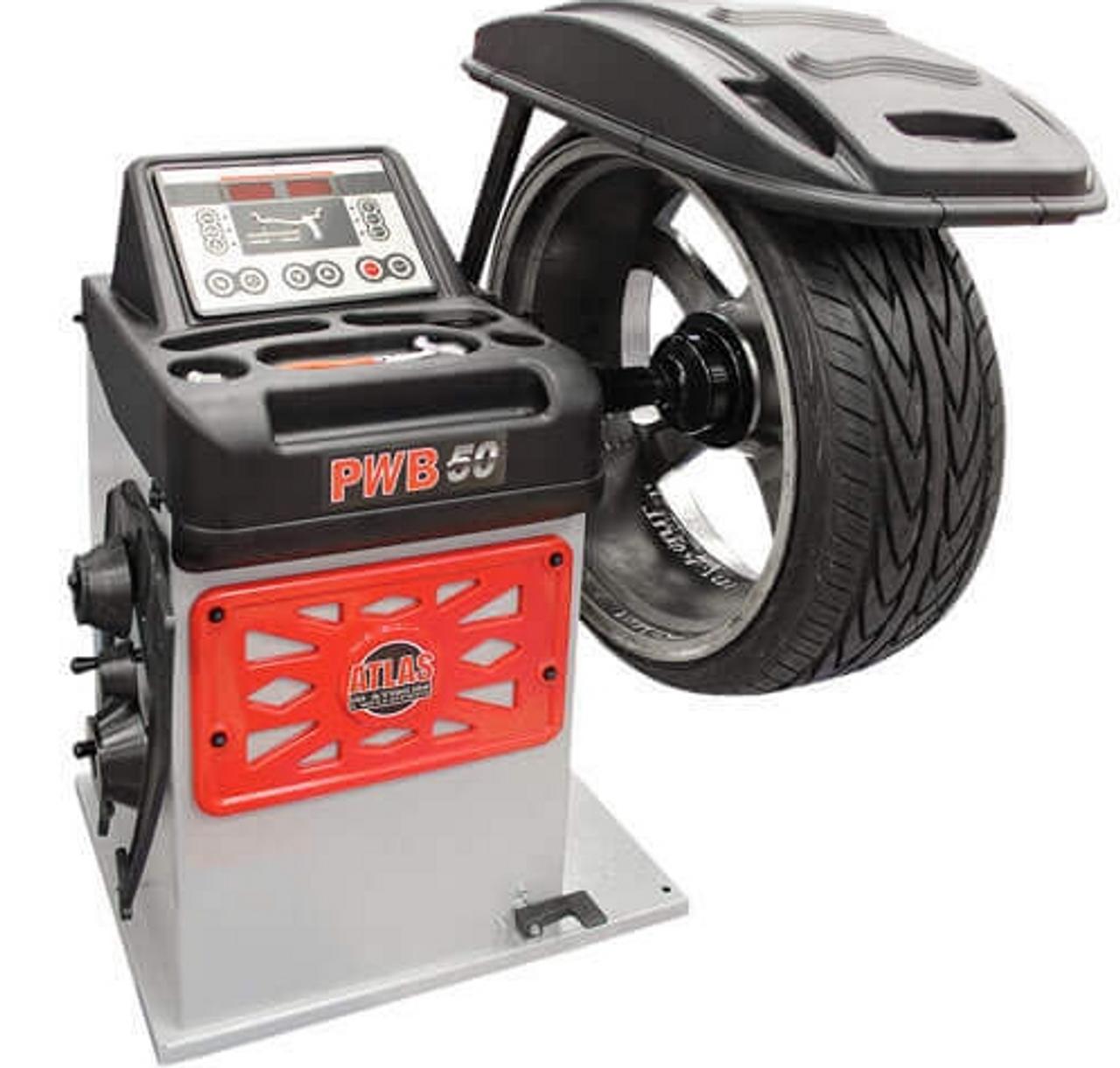 Atlas® Platinum PWB50 2D Wheel Balancer