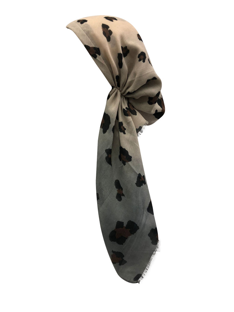 Leopard Ombre Headscarf