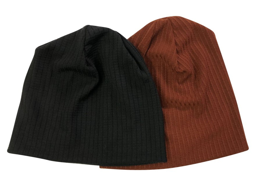 Ribbed Squares Beanie