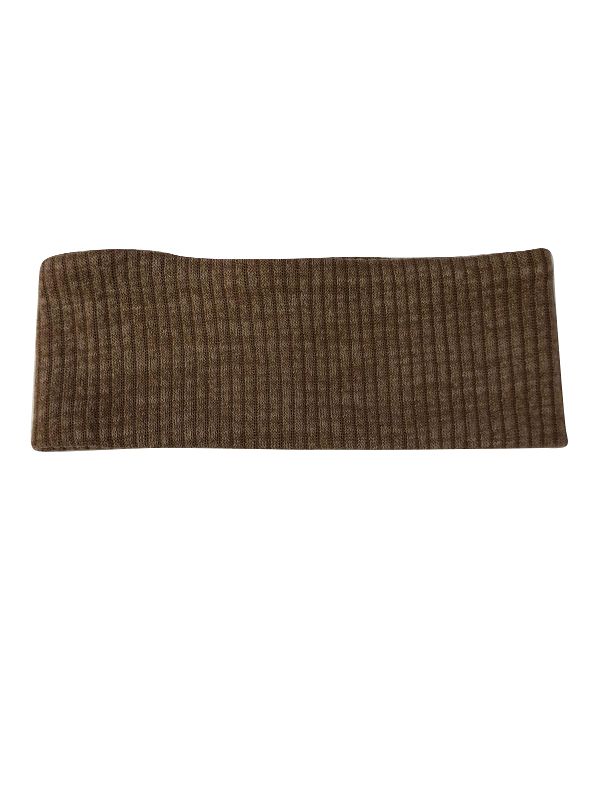 Heathered Knit Ribbed Headwrap